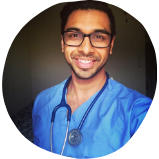 Darsh is a mentor a part of our mentorship program for pre med students​