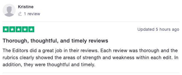 Motivate MD Trustpilot Review